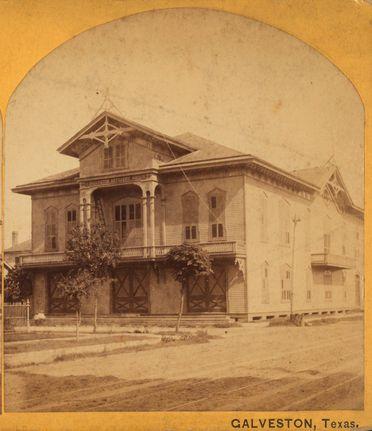 Дом в Галвестоне