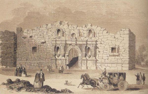 Alamo, 1854