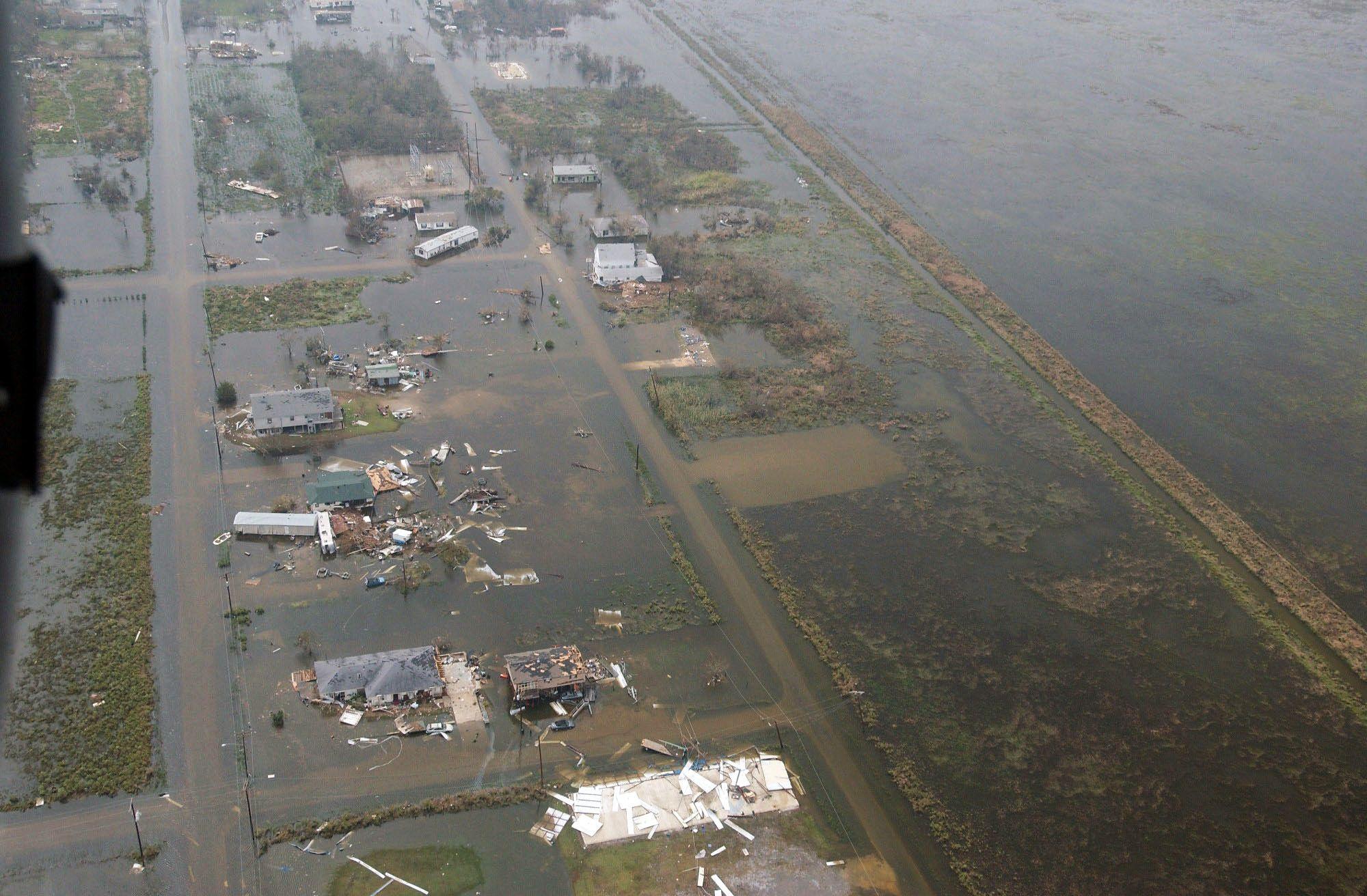Галвестон после урагана Рита