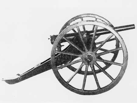 Итальянская горная пушка идентична эфиопским орудиям