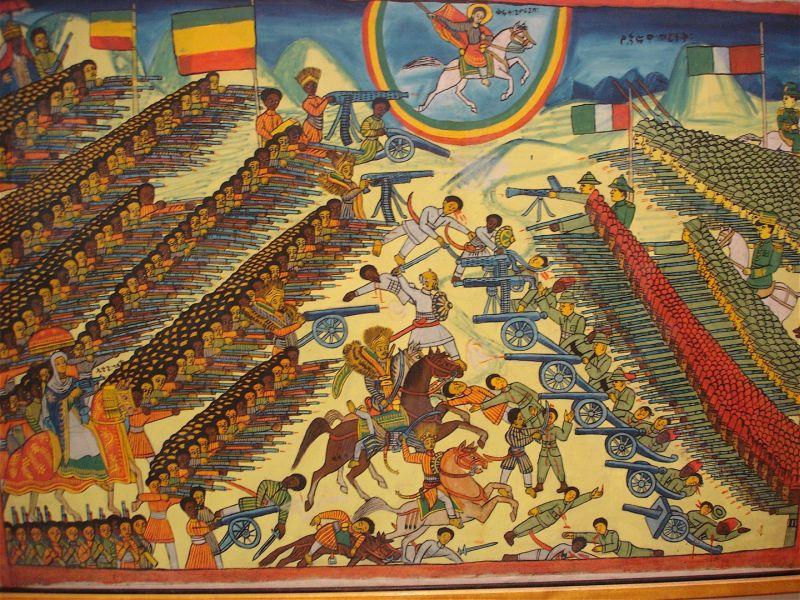 Битва при Адуа (патриотическая картина)
