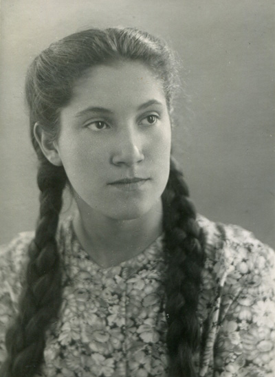 Мама, фото нач. 1950-х годов