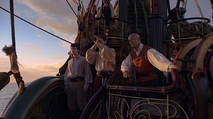 Кадр из фильма Хроники Нарнии: Покоритель зари