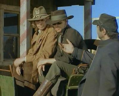 Фреда и Джеб Малик в финальной сцене