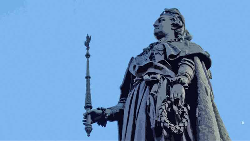Памятник Екатерине 2, СПб