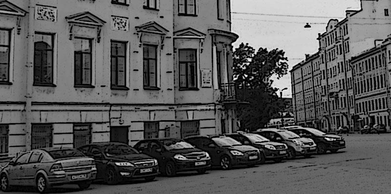 Канал Грибоедова, машины