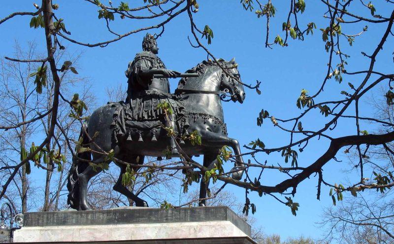 Памятник Петру I в СПб