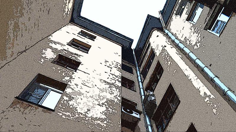 Питерский двор-колодец