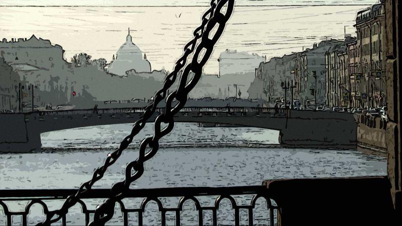 Фонтанка, Ломоносовский мост