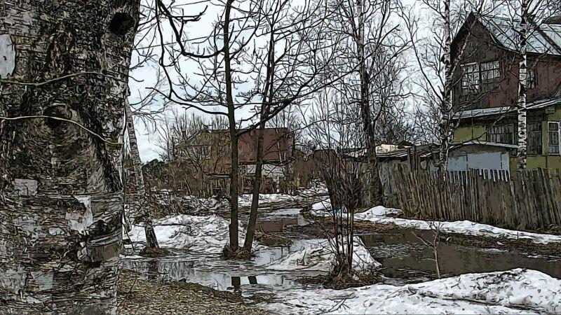Ленинградская область, весна