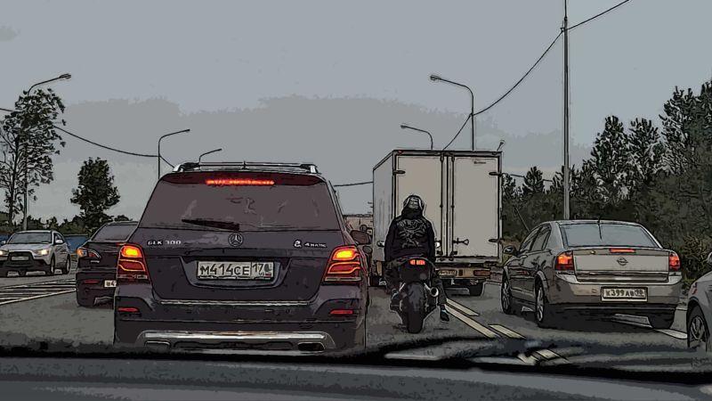 Санкт-Петербург, трасса, мотоцикл