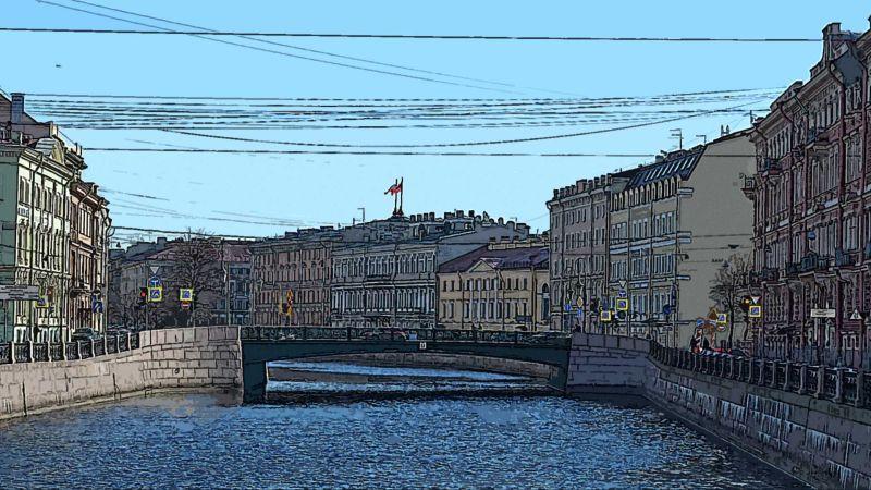 Санкт-Петербург, река Мойка