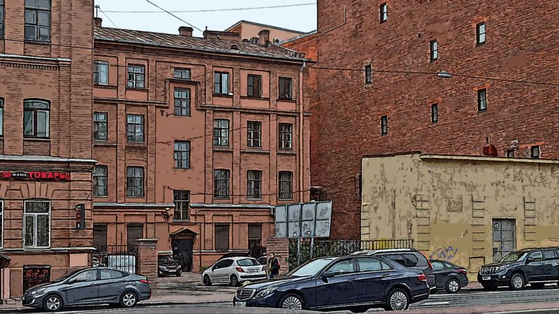 Санкт-Петербург, Измаиловский пр.