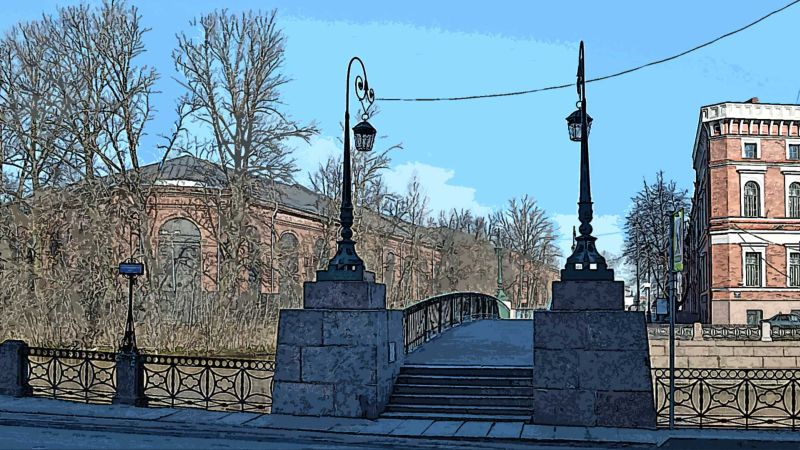 Санкт-Петербург, канал, мост