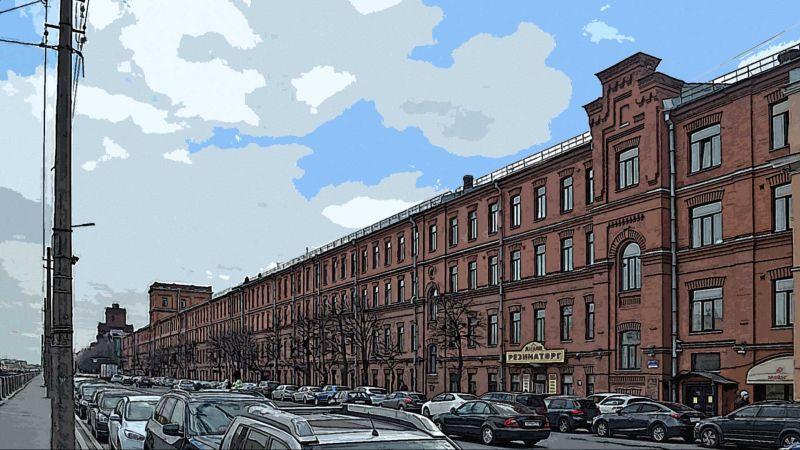 Санкт-Петербург, Набережная Обводного канала