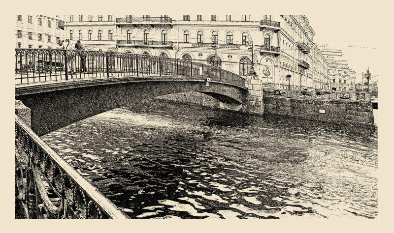 Санкт-Петербург, Полицейский мост, Временной предел прочности 1