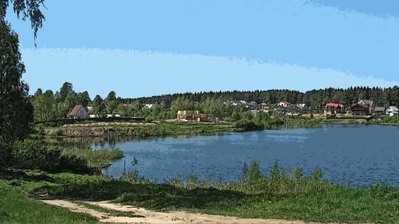 Ленинградская область, озеро, Временной предел прочности 2