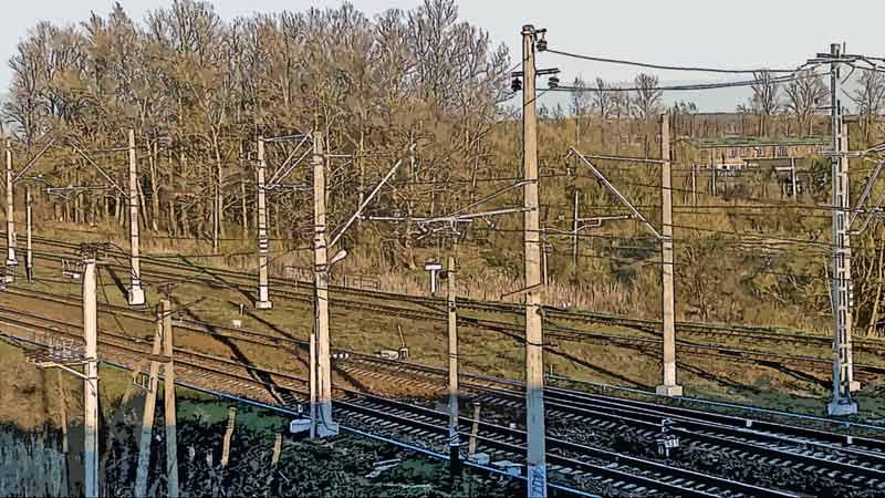 Железная дорога. Ленинградская область