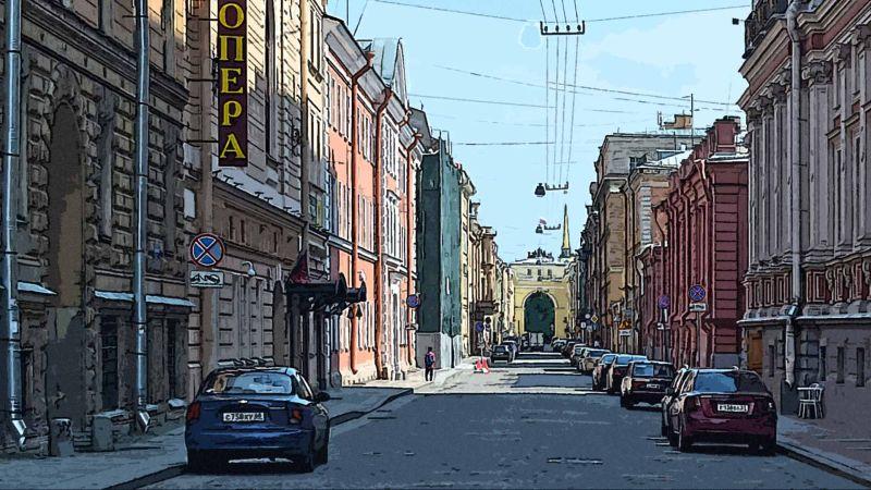 СПб, улица в Адмиралтейском районе
