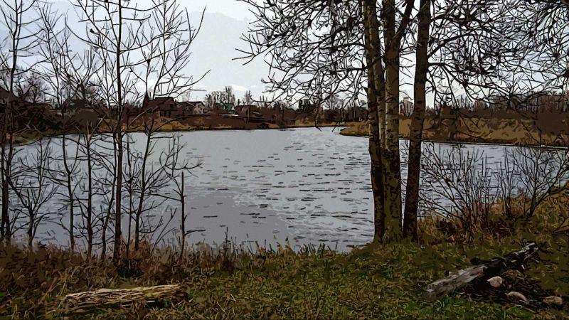 Ленинградская область, озеро