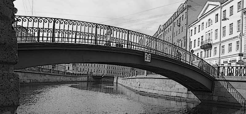 Сенной мост СПб