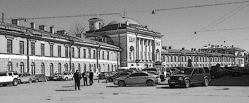 Конюшенная площадь СПб