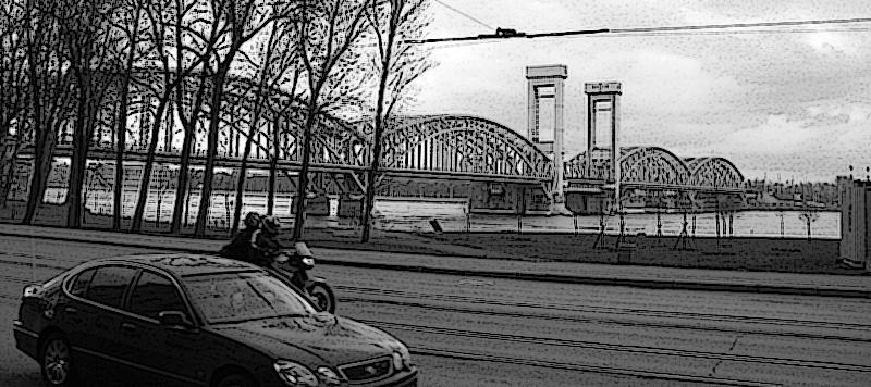 Пр. Обуховской обороны мост СПб