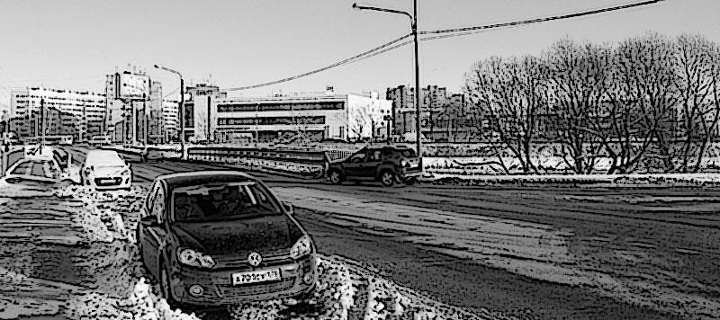 Зима СПб