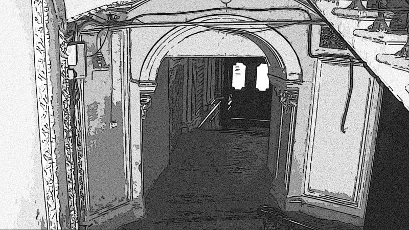 Подъезд Питерского дома