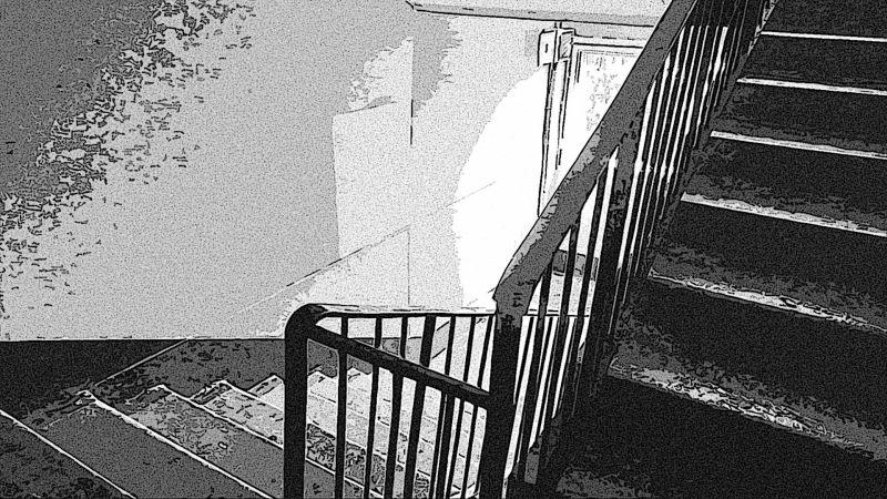 Лестница в подъезде