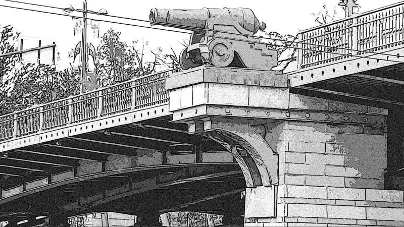 Чёрная речка мост