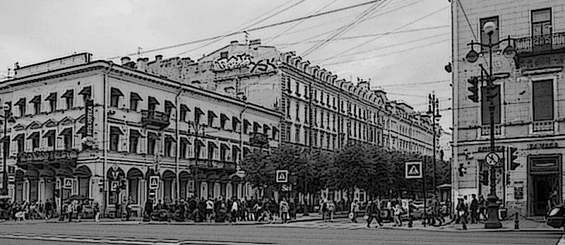 Створ Большой Конюшенной СПб